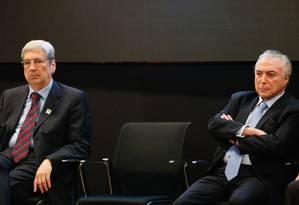 Presidente Michel Temer e ministro da Secretaria de Governo Antônio Imbassahy - 16/11/2017 Foto: Walterson Rosa/Framephoto /Agência O Globo / Agência O Globo
