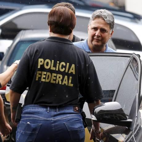 Anthony Garotinho foi preso na Operação Caixa D´água Foto: Pablo Jacob / Agência O Globo 22/11/2017