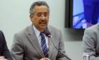 O deputado Jorge Silva (PHS-ES), em audiência pública na Câmara Foto: Cleia Viana/Câmara dos Deputados/27-09-2017