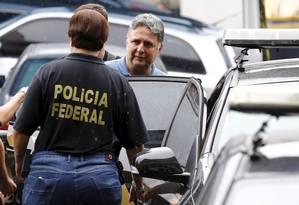 O ex-governador Anthony Garotinho, preso pela Polícia Federal Foto: Pablo Jacob / Agência O Globo/22-11-17