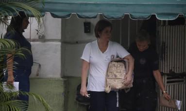 Ex-governadora do Rio de Janeiro, Rosinha Garotinho, sendo transferida do presídio de Campos, para o Rio de Janeiro Foto: Folha da Manhã / Agência O Globo
