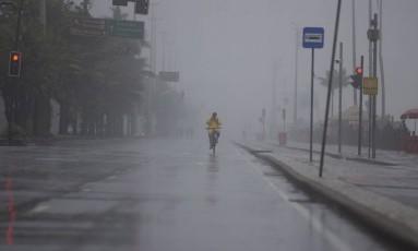 Verão costuma concentrar fortes chuvas no Rio Foto: Márcia Foletto / Agência O Globo