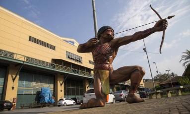 Cidade do Samba: vistorias continuarão ao longo da semana Foto: Guito Moreto / Arquivo/20-10-2017
