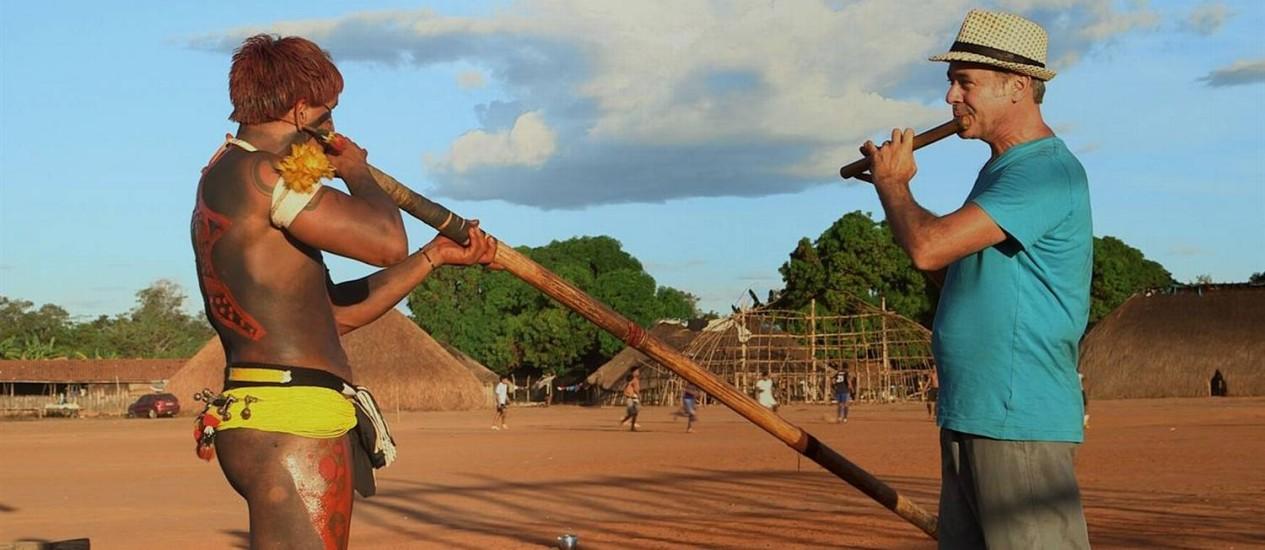 Cena do filme 'Xingu...' Foto: Divulgação