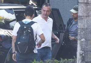 Joesley Batista, dono da JBS, durante sua chegada à Policia Federal, em Brasilia Foto: Ailton de Freitas / Agência O Globo