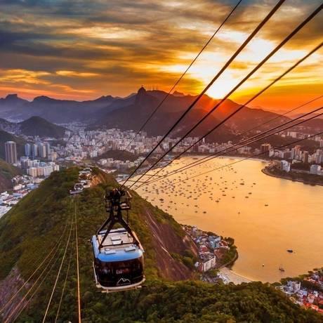 Fim de tarde no Morro da Urca no projeto Tardes Cariocas Foto: Divulgação