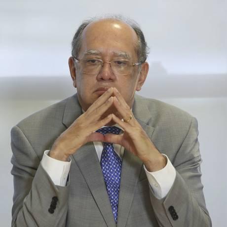 O ministro Gilmar Mendes, do Supremo Tribunal Federal Foto: Aílton de Freitas / Aílton de Freitas/Agência O Globo/14-11-201