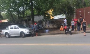 Policial foi morto na Estrada do Pontal Foto: Reprodução/Recreio da Depressão