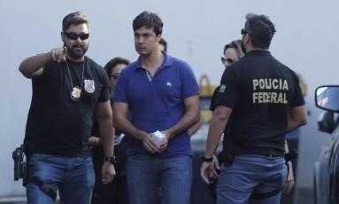 Felipe Picciani foi preso na operação Cadeia Velha Foto: Domingos Peixoto / Agência O Globo 14/11/2017