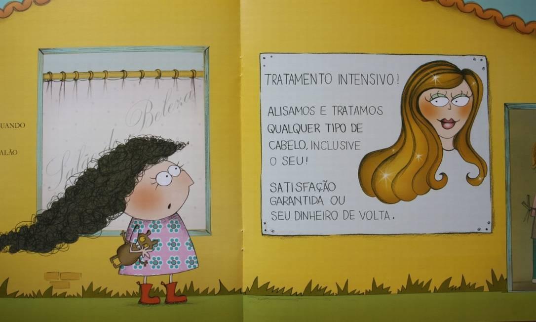 Página de 'Peppa', de Silvana Rando, retirado de circulação no início do mês Foto: Reprodução