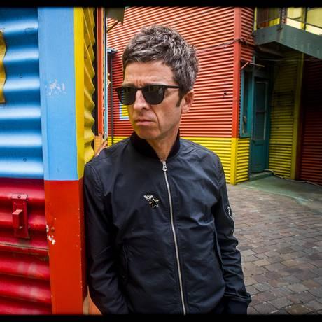 O músico Noel Gallagher, dos High Flying Birds Foto: Lawrence Watson/Divulgação