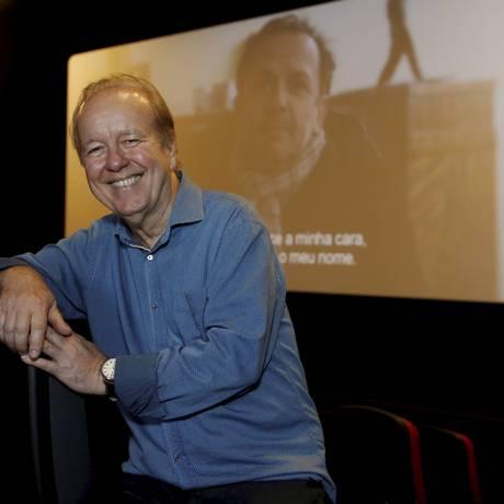 Audiovisual. Marcos Gomes no Reserva Cultural: obra do Centro de Cinema começará no mês que vem Foto: Fabio Guimaraes