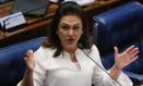 A senadora Kátia Abreu (Sem partido-TO) Foto: Ailton de Freitas / Ailton de Freitas/Agência O Globo/25-08-2016