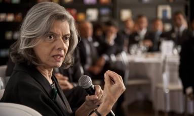 Presidente do Supremo Tribunal Federal, Ministra Carmen Lucia - 17/03/2017 Foto: Adriana Lorete / Agência O Globo