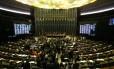 Sessão do Congresso Nacional, em Brasília Foto: Ailton de Freitas / Ailton de Freitas/Agência O Globo/22-11-2017