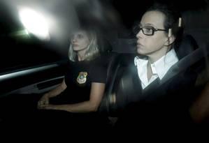 Adriana Ancelmo chega à cadeia pública de Benfica durante sua prisão em 2016 Foto: Marcelo Theobald / O Globo/Arquivo