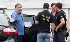 O ex-governador Anthony Garotinho foi preso na operação Caixa D'água Foto: Guilherme Pinto / Agência O Globo 22/22/2017