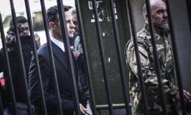 Oscar Pistorius teve a sentença aumentada nesta sexta-feira Foto: ZINYANGE AUNTONY / AFP