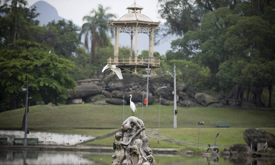 A Quinta da Boa Vista foi um projeto encomendado por Dom Pedro II ao paisagista Auguste François-Marie Glaziou Foto: Márcia Foletto / Agência O Globo