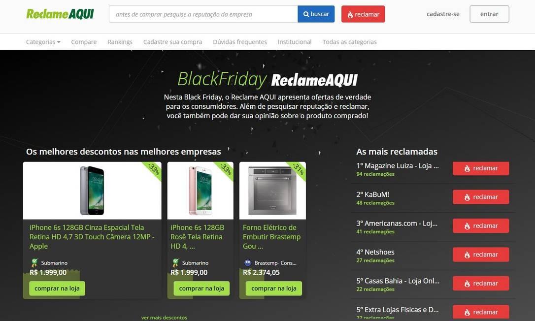 992a5fe2bd Mal começou a Black Friday e consumidores já relatam erros nos sites ...