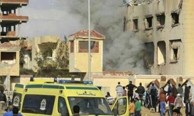 Ao menos 54 pessoas morreram em ataque a mesquita no Egito Foto: Reprodução