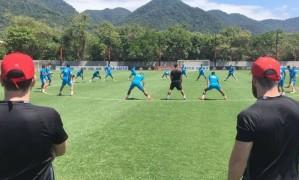 Sport treina no Ninho do Urubu Foto: Reprodução