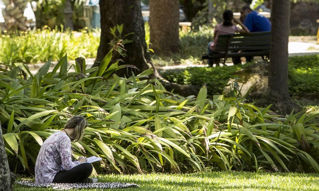 O palácio e o jardim foram tombados pelo Iphan em 1938 Foto: Ana Branco / Agência O Globo