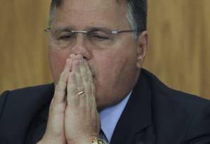 Job Ribeiro Brandão é ex-assessor do deputado Lúcio Vieira Lima (PMDB-BA) e de seu irmão, o ex-ministro Geddel Vieira Lima (foto) Foto: Givaldo Barbosa / Agência O Globo