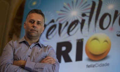 Marcelo Kokotte, responsável pelos fogos de Copacabana Foto: Alexandre Cassiano / Agência O Globo