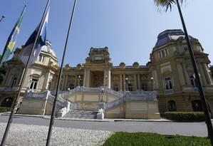 Fachada do Palácio Guanabara, sede do governo do estado Rio Foto: Antonio Scorza / Agência O Globo
