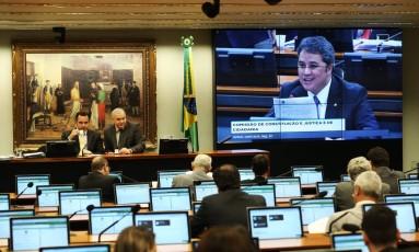 Comissão de Constituição e Justiça da Câmara discute proposta que restringe o foro privilegiado Foto: Ailton de Freitas / Ailton de Freitas/Agência O Globo/22-11-2017
