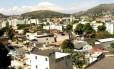 Vista de cima da Taquara Foto: Nina Lima / Agência O Globo