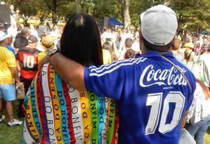 Frequentadores do Festival Brasileiro em Boston, ocorrido em setembro de 2017 Foto: Reprodução de Facebook / Brazilian Festival in Boston - Festival Brasileiro em Boston