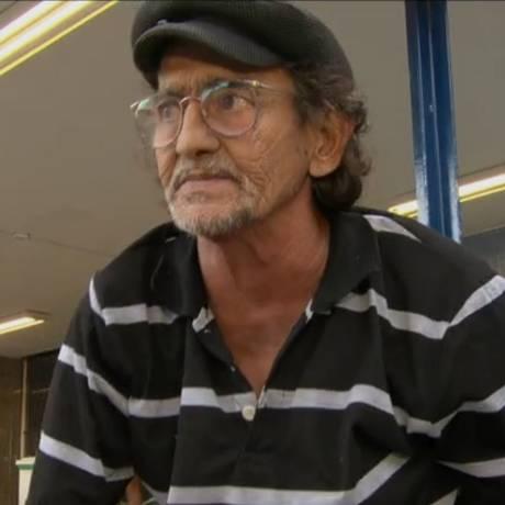 Jordenis Benicio de Sousa, de 63 anos, morreu após peregrinar por cinco dias em hospitais do Rio Foto: Reprodução / TV Globo