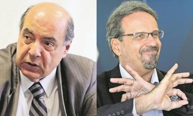Nelson Mufarrej (à esquerda) e Marcelo Guimarães Foto: Agência O Globo