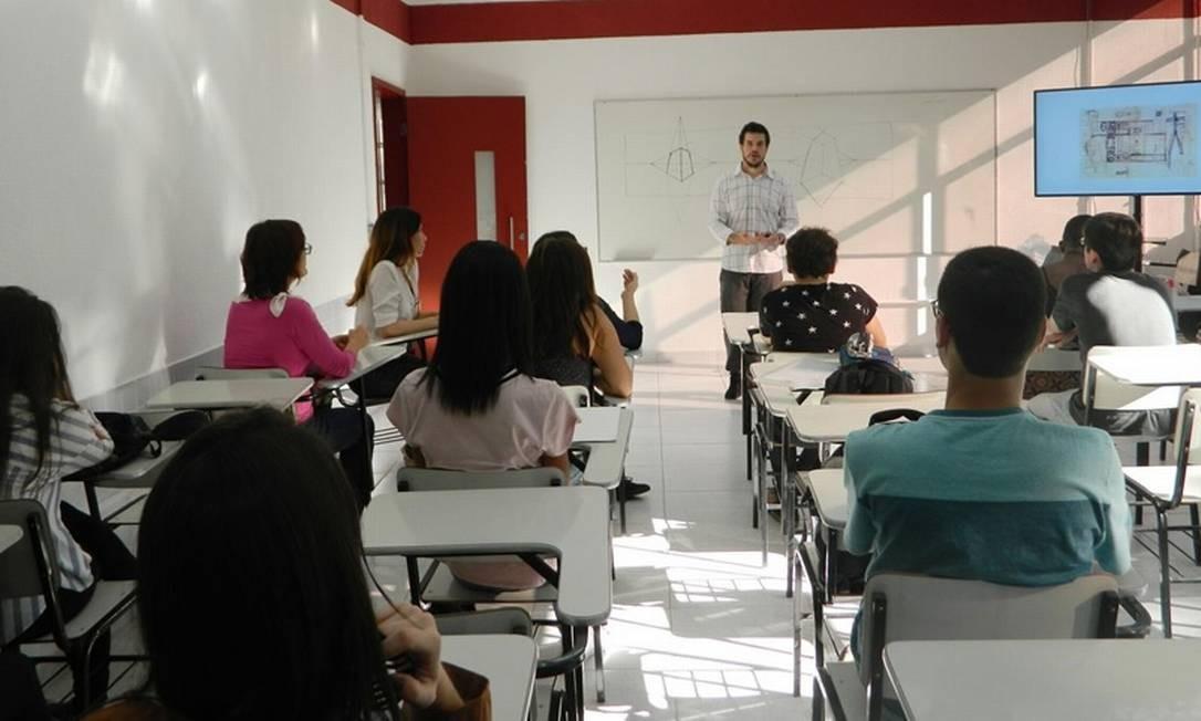 Qualificação. Na Univeritas, a especialização em Educação Especial terá aulas quinzenais, por 18 meses, no Campus Flamengo Foto: Divulgação