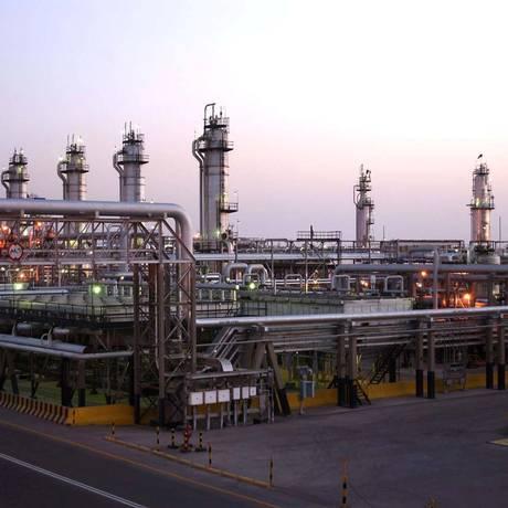 Instalação da Saudi Aramco Foto: HANDOUT / REUTERS
