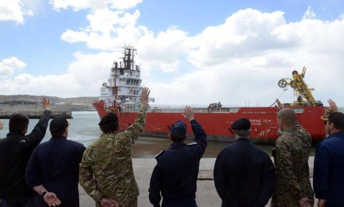 Ouvida explosão no dia do último contacto do submarino, confirmou Marinha argentina