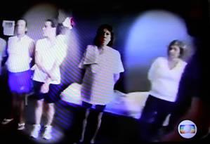 Rosinha Garotinho e Adriana Ancelmo dividem mesma cela em prisão em Benfica Foto: Reprodução TV GLOBO