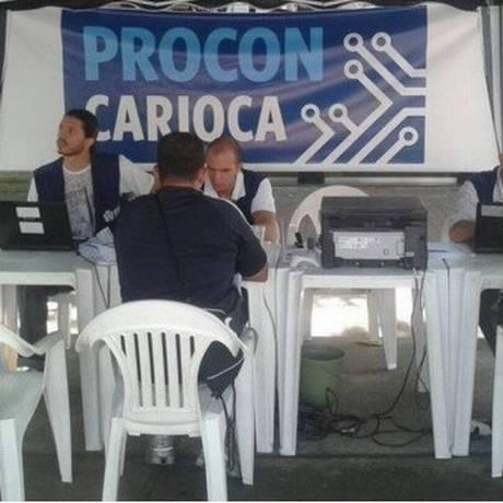 Procon Carioca vai oferecer atendimento no Largo da Carioca Foto: Divulgação