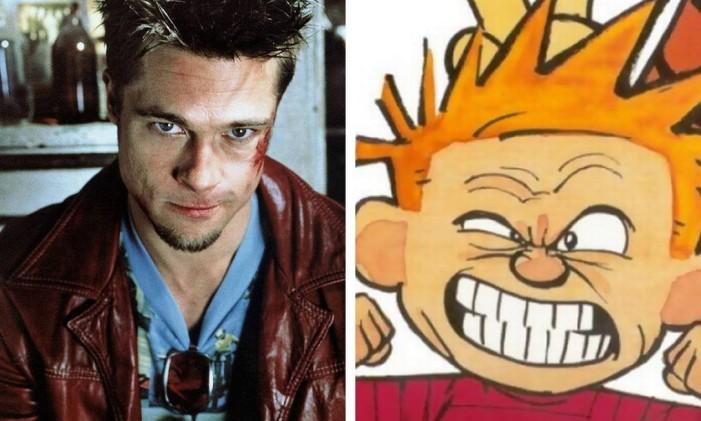 Personagem de Brad Pitt seria uma versão evoluída de Haroldo Foto: Divulgação