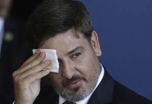 Fernando Segovia toma posse na direção-geral da Polícia Federal Foto: Eraldo Peres / AP
