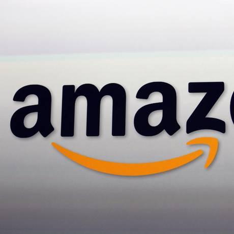 A logomarca da Amazon Foto: Reed Saxon / Reed Saxon/AP/6-9-2012