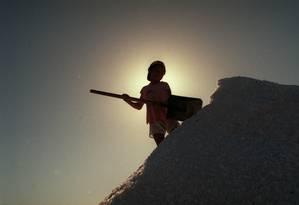 Meninos são maioria entre trabalhadores infantis Foto: José Luiz da Conceição