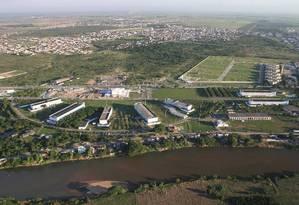 O campus da Uenf: instituição está entre as que figuram no topo do ranking fluminense, com a nota 5 Foto: Felipe Moussallem/28-8-2008 / Divulgação
