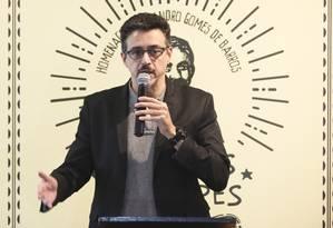 O ministro da Cultura, Sergio Sá Leitão, durante evento em Brasília Foto: Ailton Freitas/Agência O Globo