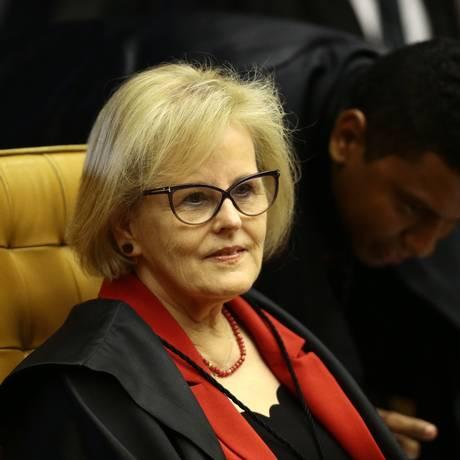 A ministra do STF Rosa Weber Foto: Jorge William / Agência O Globo