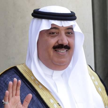 O príncipe saudita Miteb bin Abdullah Foto: Philippe Wojazer / REUTERS