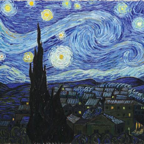 Cena do filme 'Com amor, Van Gogh' Foto: Divulgação