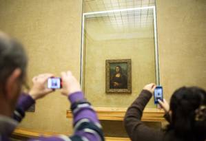 Mona Lisa no museu do Louvre, em Paris Foto: Andrey Rudakov / Arquivo
